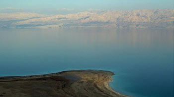Dead Sea, Borders Jordan, Palestine
